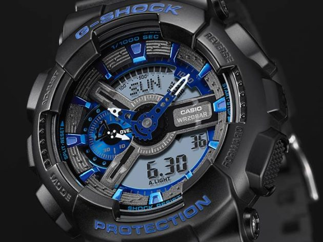 G-SHOCK Cool Blue Color Series