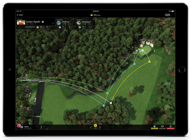 Masters App - iPad