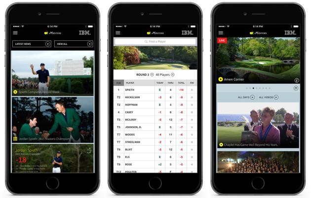 Masters App - iPhone