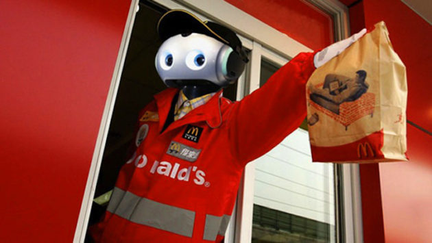 McDonalds Robot Employees
