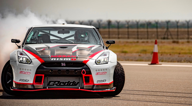 Nissan GT-R Sets Guinness World Records Title For Fastest Drift