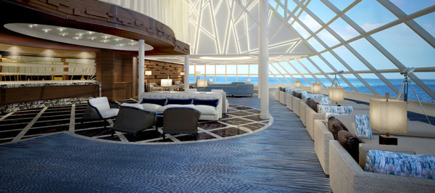 Norwegian-Joy - Haven Observation Lounge
