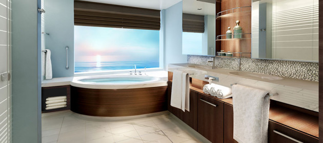 Norwegian-Joy - Haven Suite Bathroom