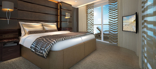 Norwegian-Joy - Haven Suite Bedroom