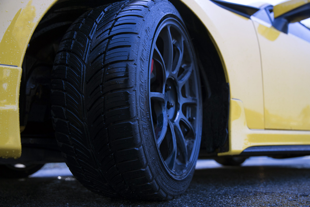 Scion FR-S wearing BFGoodrich g-Force COMP-2 A/S tires