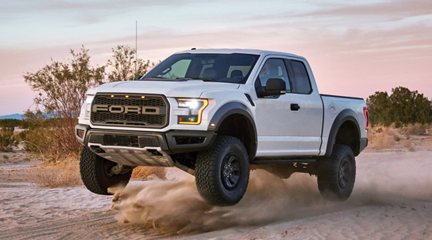 Watch The 2017 Ford F-150 Raptor Tear It Up In The Mojave Desert