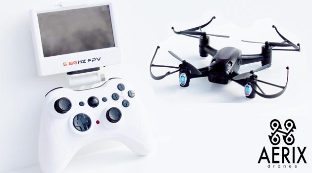 AERIX Drones Releases Black Talon Micro FPV Racing Drone