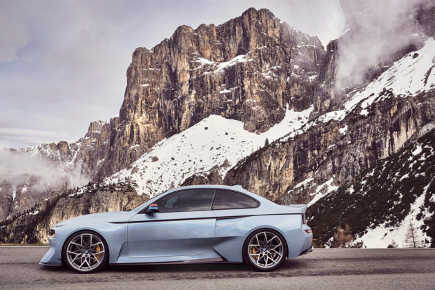 Bmw 2002 Hommage Concept Is A Stunning Tribute To The Iconic 2002