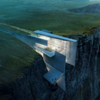 Iceland Cliffside Retreat: Thrilling Views Included