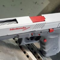 How Awesome Is This Custom Nintendo Zapper Glock Handgun?