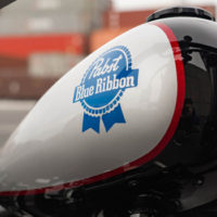 Pabst Blue Ribbon Custom Motorcycle To Be Auctioned Off For Charity