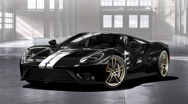 Introducing The 2017 Ford GT '66 Heritage Edition