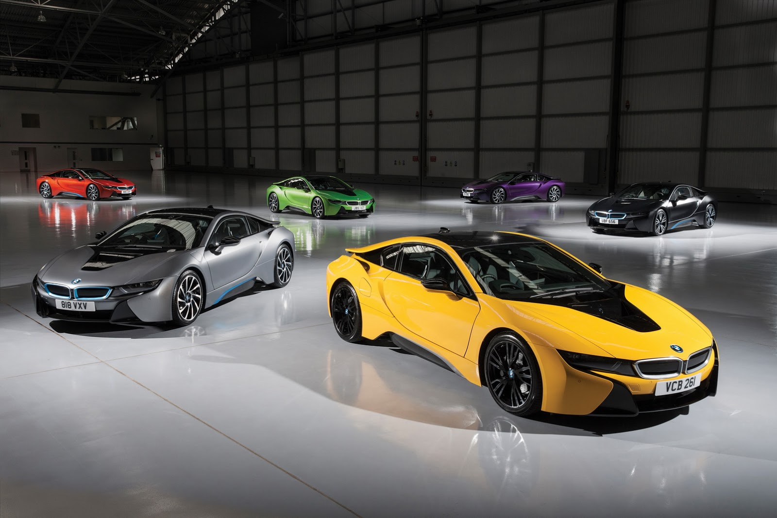 Bmw I8 To Be Offered In 6 Bold New Colors