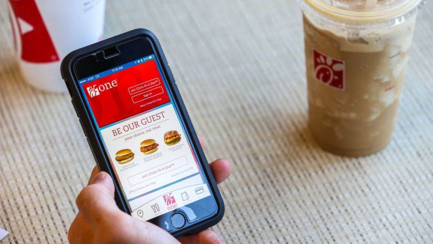 Chick-Fil-A One app
