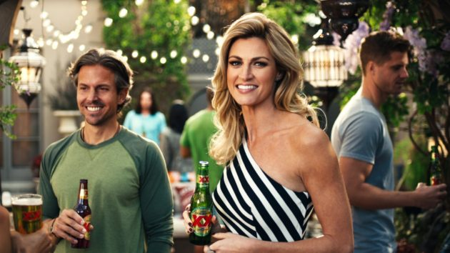 Erin Andrew and Luis Guzman Team Up With Dos Equis