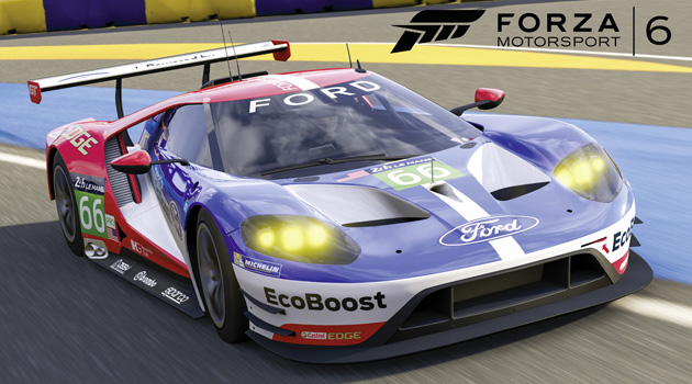 Ford GT Le Mans Race Car Now Available in Forza Motorsport 6 for Xbox One