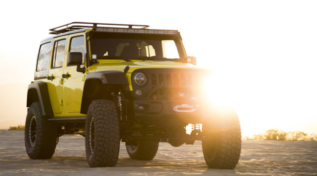 Pennzoil Takes A Jeep Wrangler Rubicon On A Joyride Through Baja