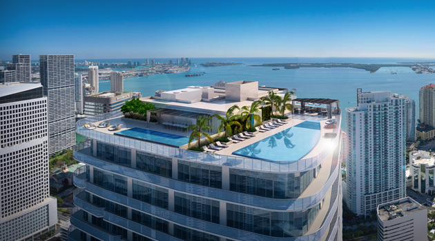 The Penthouses At SLS Lux Offer The Most Amazing Views Of Miami