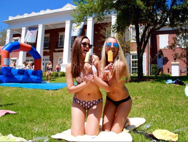 Tri Delta sorority at University of Florida