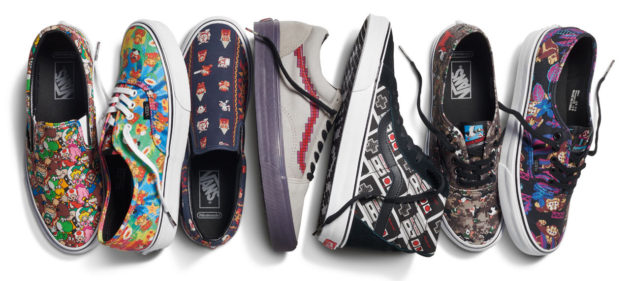 Vans Nintendo Shoes