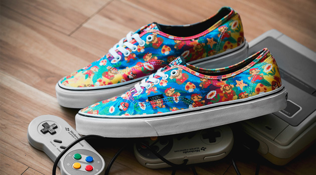 Vans Introduces Nintendo-Branded Line