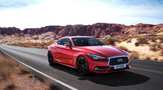 2017 Infiniti Q60 Coupe To Start At $38,950