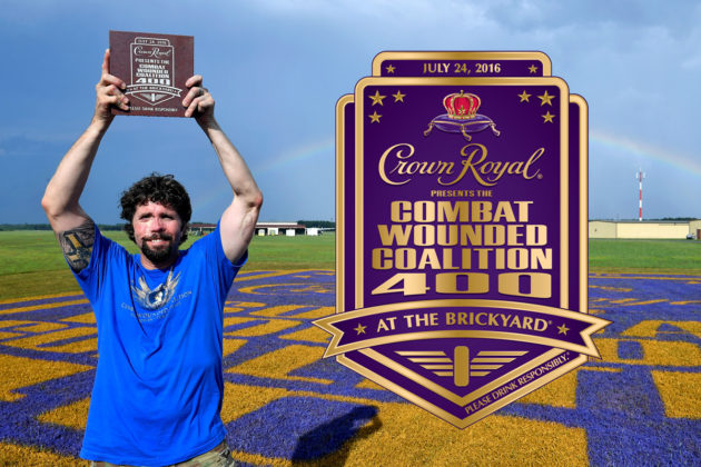 Crown Royal Presents the Combat Wounded Coalition 400 at the Brickyard