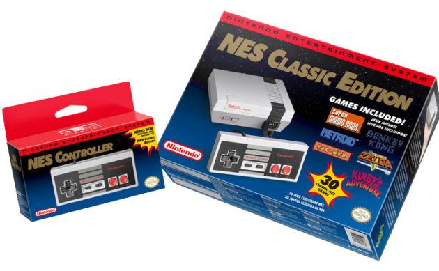 NES Classic Edition - Box