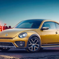 The 2016 Volkswagen Beetle Dune Is A Four-Wheeled Beach Party