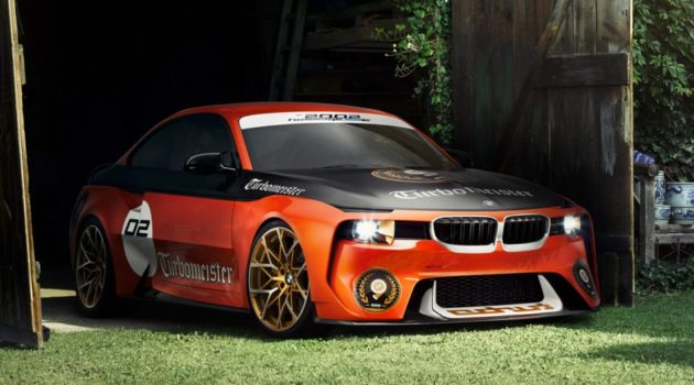 BMW 2002 Hommage Turbomeister Concept Debuts At Pebble Beach