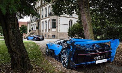 Bugatti Vision Gran Turismo and Chiron prototypes