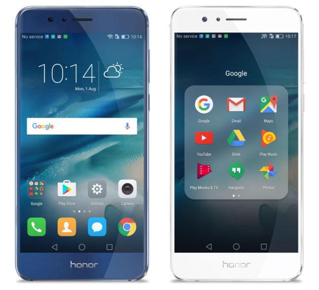 Honor 8 screen