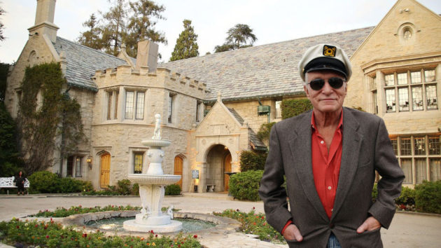 Hugh Hefner - Playboy Mansion