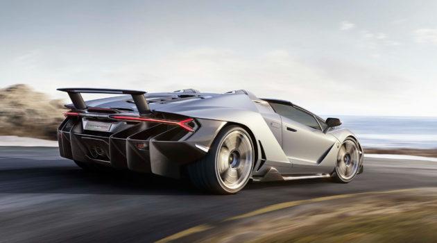 Lamborghini Centenario Roadster Makes It's Debut At Pebble Beach