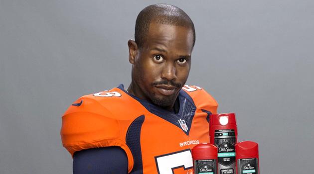 Denver Broncos Linebacker Von Miller Is The New Old Spice Guy