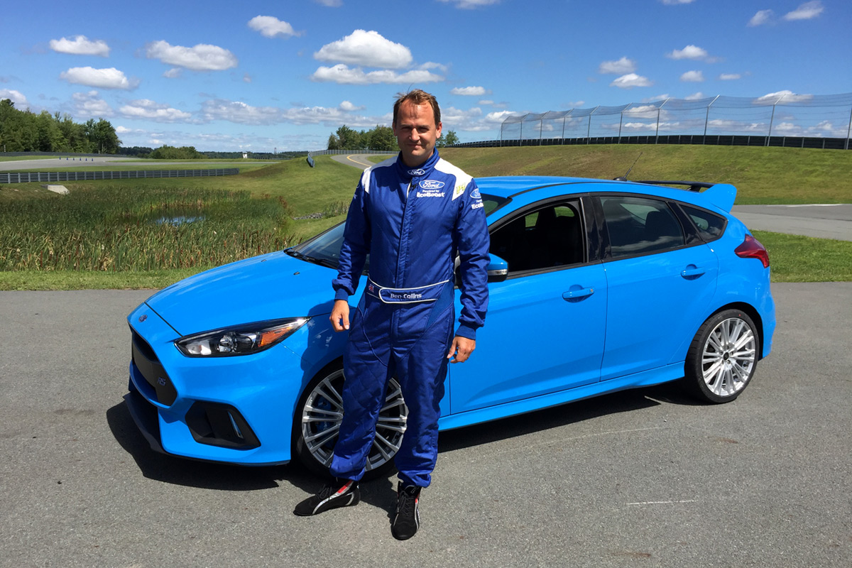 2016 Ford Focus RS with The Stig