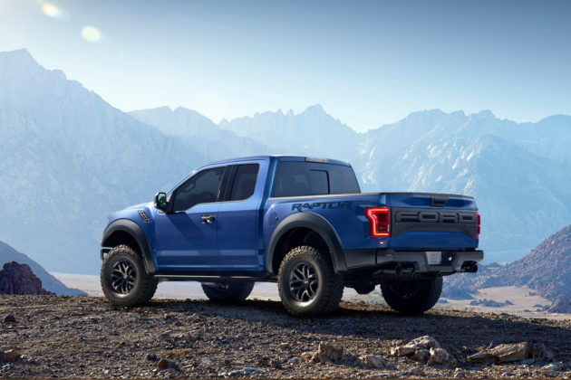 2017 Ford F-150 Raptor - Blue