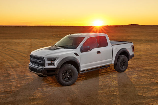 2017 Ford F-150 Raptor - White