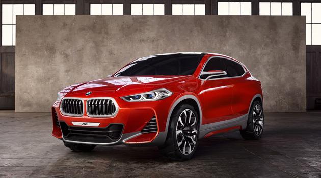 BMW Concept X2 Unveiled At Paris Motor Show