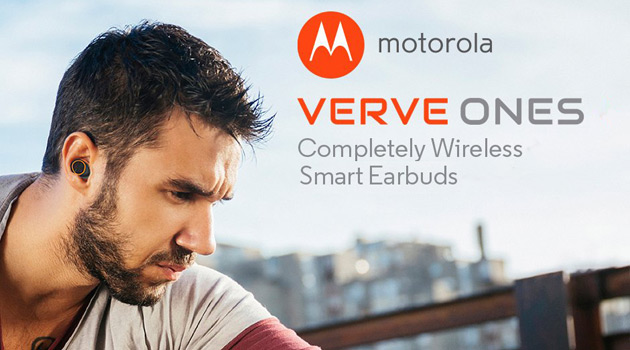 Motorola VerveOnes Wireless Earbuds Let You Enjoy Life And Stay Connected