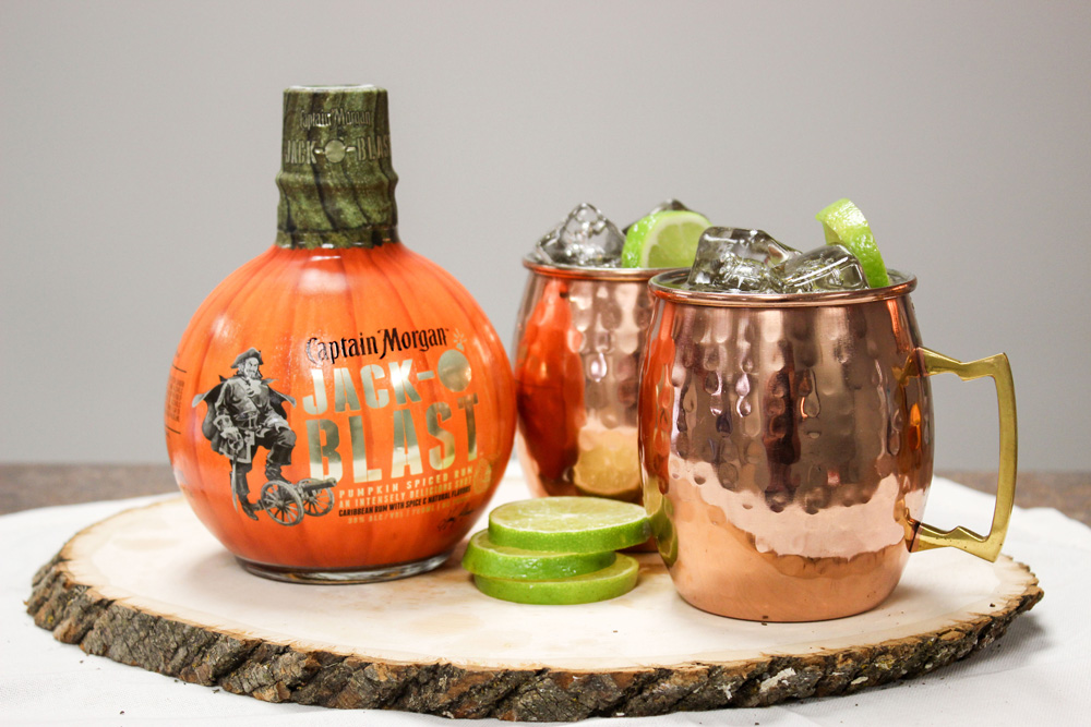 "Captain Morgan ""Mutiny Mule"" Recipe"