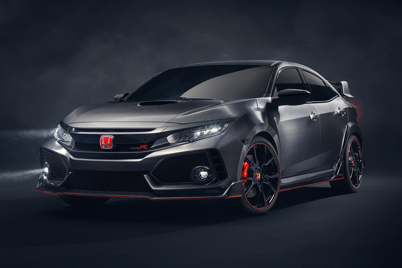 Honda Civic Type R Prototype Makes Its Debut At Paris