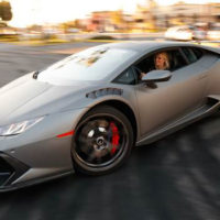 Watch This Couple Drift Their Huracán Around Lamborghini Newport Beach