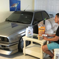 Man Parks His BMW E30 M3 In Living Room During Hurricane Matthew