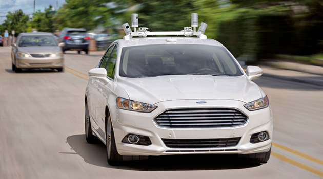 I Went For A Ride In Ford's Self-Driving Car