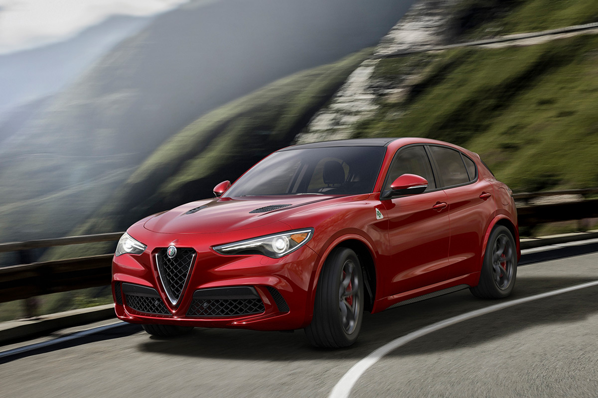stunning alfa romeo stelvio suv does 0 60 in under 4 seconds. Black Bedroom Furniture Sets. Home Design Ideas