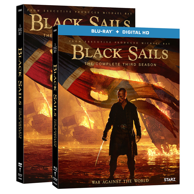 Black Sails Season Three on Blu-ray