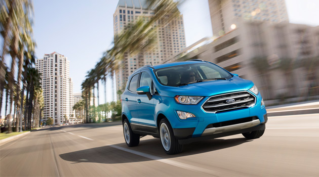 Ford EcoSport Proves That Big Things Come In Small Packages