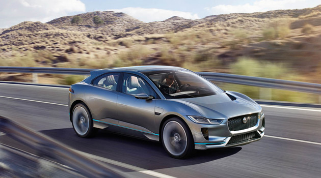 The Jaguar I-PACE Concept Is The Sexiest Electric SUV You've Ever Seen