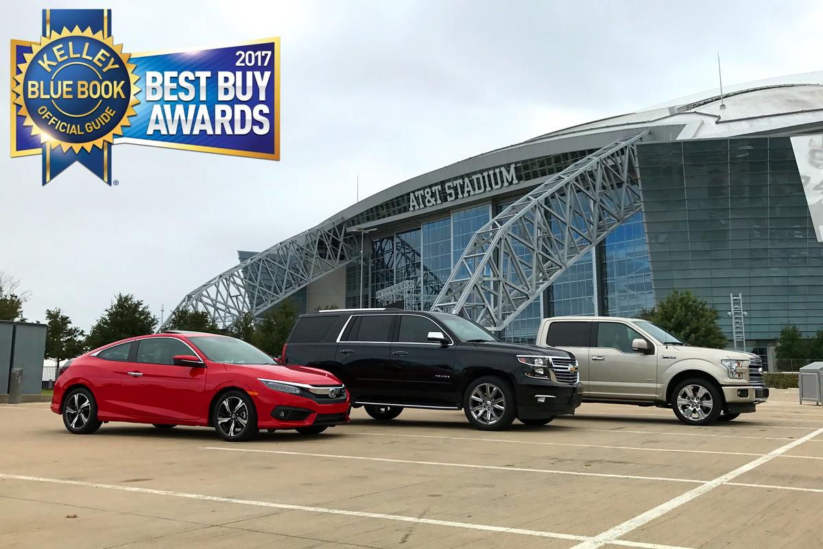 Kelley Blue Book Announces 2017 Best Buy Award Winners
